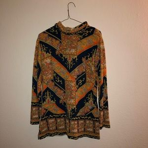 Vintage long sleeved tunic - very comfortable!
